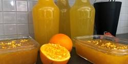 Gamla clementiner blev lemonad.