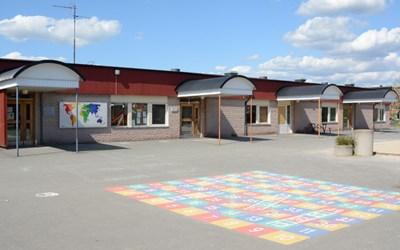 På Gamlegårdskolan går elever i årskurs F-5.