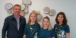 Pierre Månsson (L), kommunalråd ser fram emot att välkomna Scouterna till Jamboree22, sommaren 2022 i Norra Åsum.