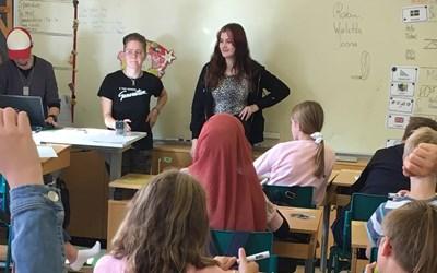 Från vänster: Robin Johannesson, Jonna Andersson och Wioletta Karolak