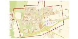 Karta över undersökningsområdet i Hammar