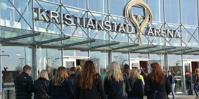 Omkring 400 000 besökare om året har haft glädje av Kristianstad Arena i tio år.