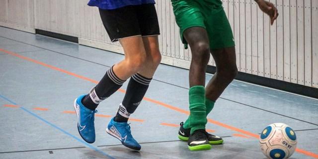 Bild som visar innefotbollsspelare