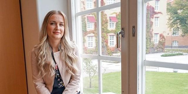 Cecilia Johansson koordinator på Näktergalen. Foto:Kerstin Weman Thornell