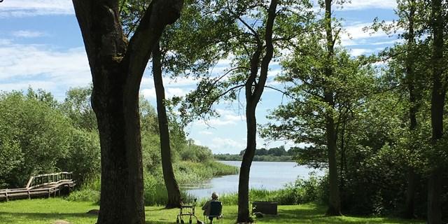 Ekenabben är en av Vattenrikets besöksplatser strax sydost om Kristianstads centrum.