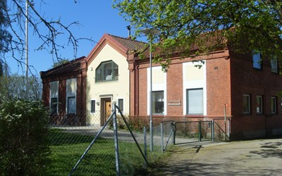 Bjerevångens förskola i natursköna Everöd är omgivenav ängar ochgran- och lövskog.
