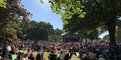 Musikaliskt strandhugg i Tivoliparken 2020