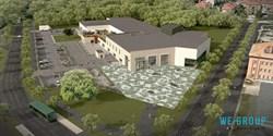 Konstnärlig gestaltning nya badhuset Kristianstad