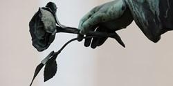 Bild på bronsskulptur