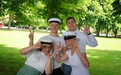 Kristianstads kommunala gymnasieskolor: En klass för sig!