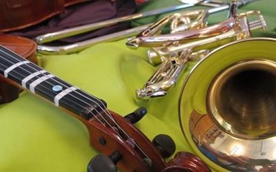 Prova på brass- eller stråkrytmik