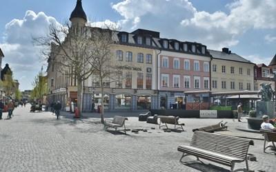 Lilla torg i Kristianstad