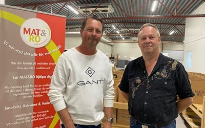 Marcus Carlsson är ny vd för och delägare i Mat & Ro. Per-Göran Lennartsson har varit delägare i matkasseföretaget sedan 2012.