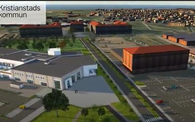 Just nu pågår bygget av ett nytt badhus på Näsby, och mer ska byggas framöver. Du kan se ett bildspel över vad som ska byggas på södra Näsby under länken vid Relaterad information.