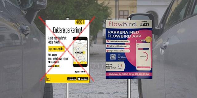 Way to park byter namn till Flowbird.