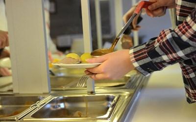 Skolmat är mat, vanligen lunch men ibland också mellanmål, som serveras i en skola.