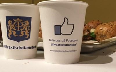 Följ oss gärna på Facebook och Instagram @tillvaxtkristianstad. Där ser du inbjudan till alla våra träffar.