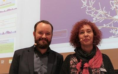 Lektor Simon Hjort och utvecklingschef Anna Karlsdotter