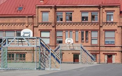 Norretullskolan i hjärtat av Kristianstad.