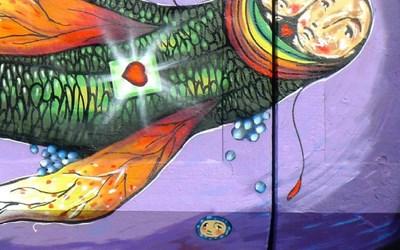 Graffitikonst av LIMPO