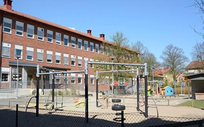 Centrals förskola ligger i centrum av Kristianstad .