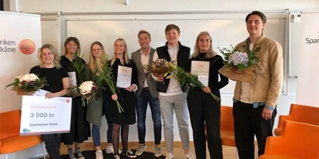 Årets Bästa UF-Företag i Kristianstads kommun och vinnarna av Henrik Persson Ekdahls Stipendium fick äntligen presenteras och hyllas för sina insatser under läsåret 2019/2020.