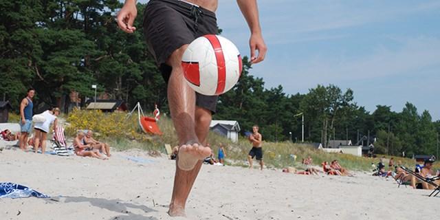 Åhusstranden är populär på sommaren - men det gäller att visa hänsyn.