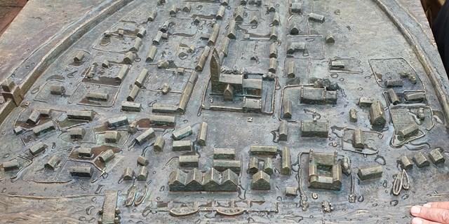Taktila modellen över medeltida Åhus