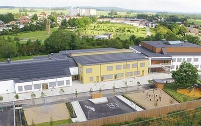 Nybyggda Kulltorpskolan blev klar sommaren 2019.