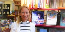 Linda O´Sullivan skolbibliotekarie på Fjälkinge skola.