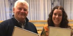 Claes Johansson och Kajsa Handberg.