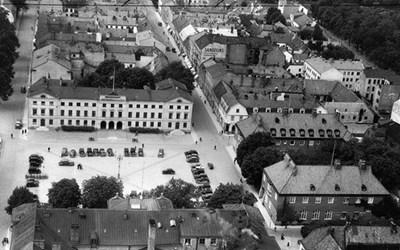 Stora Torg i Kristianstad i början av 1900-talet.