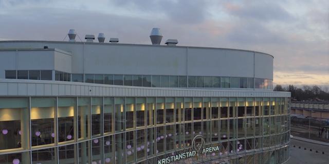 Gymnasiemässan har de sista åren hållits på Kristianstads arena.