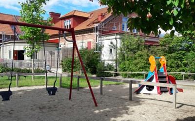 Femöringens förskola ligger i Rinkaby utanför Kristianstad, på väg mot Åhus.