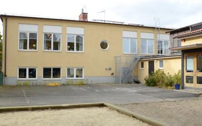 Huaröds skola och Huaröds förskola.