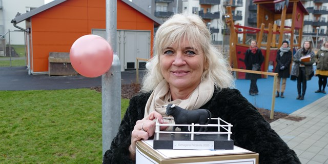 Carina Rolfdotter-Ivan på Oxhagen.