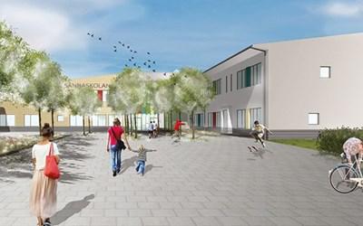 Foto av nya skolan kommer inom kort.