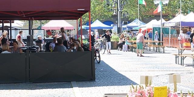 Lilla Torg i Kristianstad är en av kommunens offentliga platser.