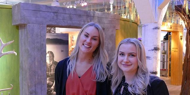 Nöjda koordinatorer, Cecila Johansson och Annie Lundin.