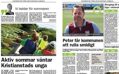 Uppslaget finns att läsa i Kristianstadsbladet eller här på webben. Klicka på länken under Relaterad information.
