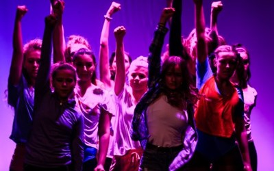 Dansare i musikalen Footloose 2017