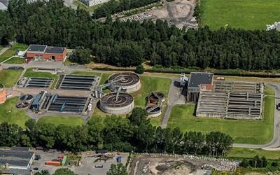 Centrala reningsverket är Kristianstads största reningsverk.