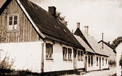 Sjögatan 10, Åhus, 1954.
