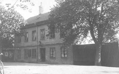 Bostadshus till gasverk, Östra Boulevarden, 1883