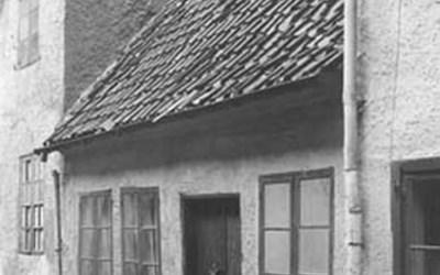 Östra Vallgatan, Kristianstd, 1944.