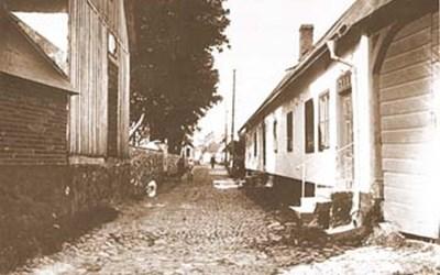 Rönnowsgatan 2, Åhus, senast första hälften 1920-talet.