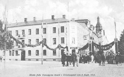 Christian IV:s gata 2 -Västra Boulevarden 9, Kristianstad, 1913.