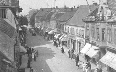 Östra Storgatan 41, Kristianstad,  1925.