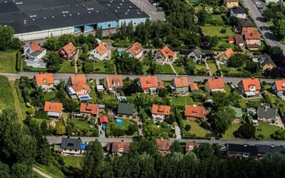Hög livskvalitet för bostadspriset