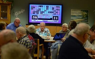 Bingo är en favorit på Mötesplatsen.